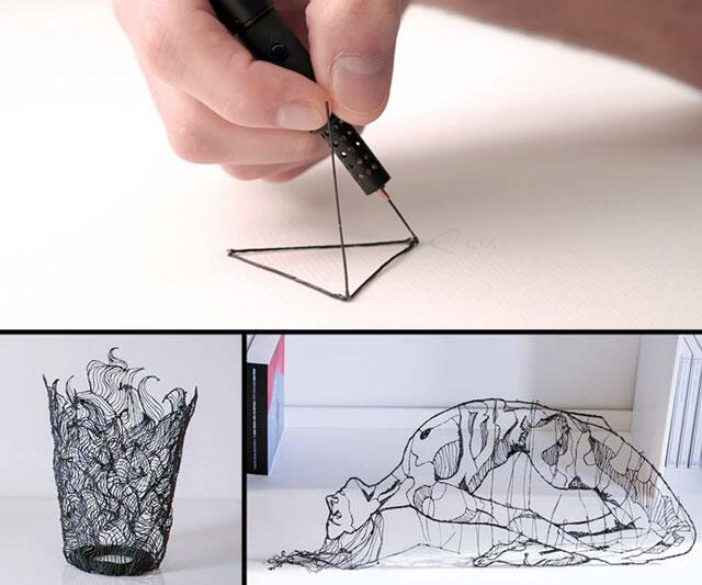 3d pen, 3d printer, air doodle, draw in the air, lix, lix 3d pen, lix 3d pen blog, lix 3d pen draw, lix kickstarter, lix video,