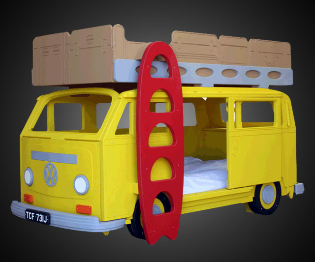vw camper bunk bed plans