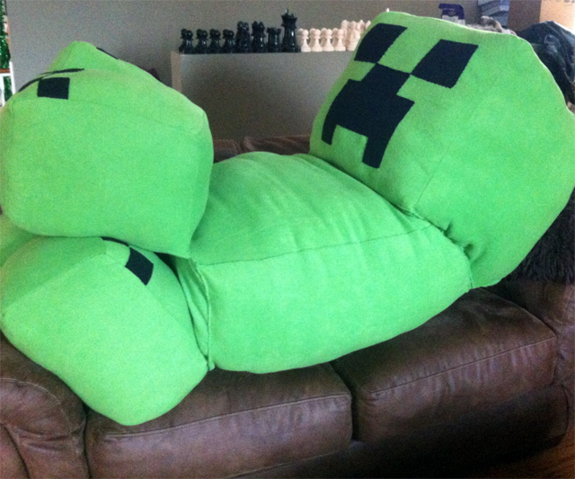 Life-Size Minecraft Creeper Related Gifts