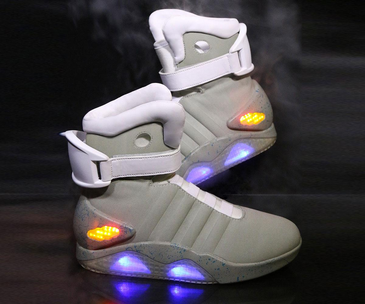 Back to the Future II Light Up Shoes Related Gifts